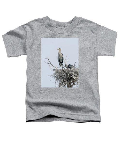 Great Blue Heron Rookery 3 Toddler T-Shirt