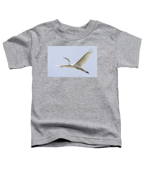 Great Egret 2 Toddler T-Shirt