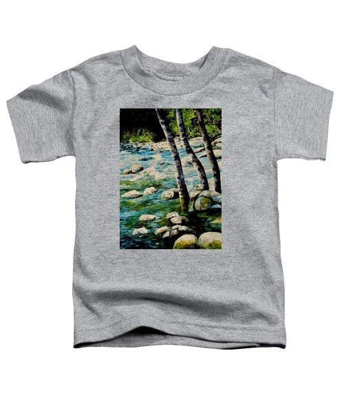 Gushing Waters Toddler T-Shirt