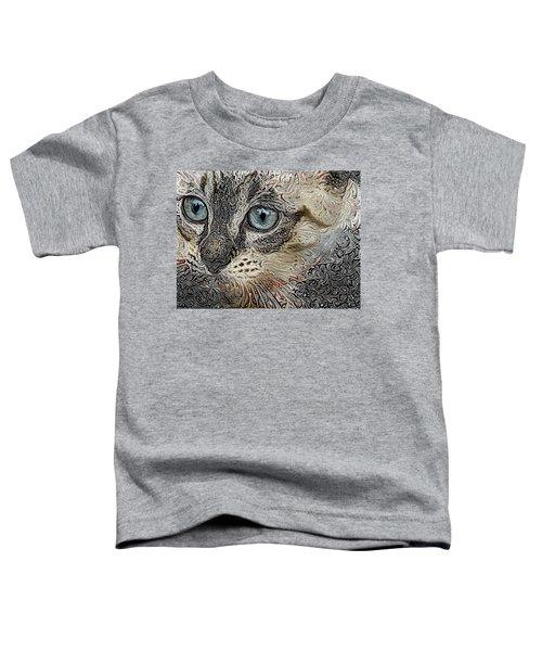 Gypsy The Siamese Kitten Toddler T-Shirt