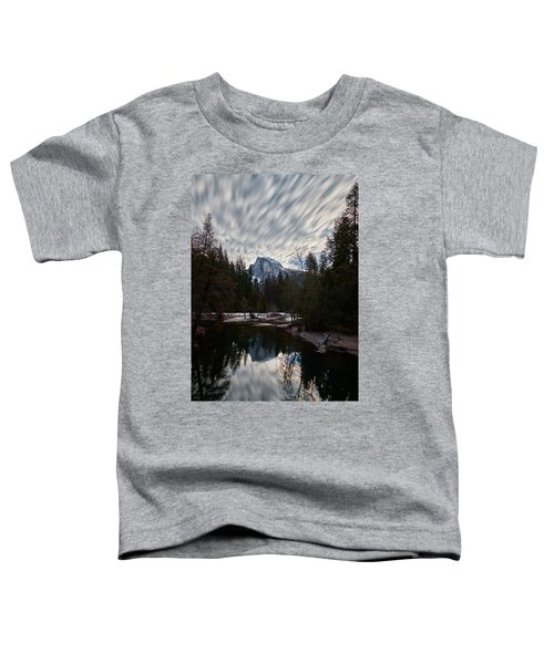 Half Dome Reflection Toddler T-Shirt
