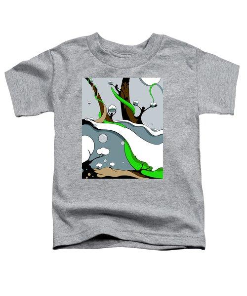 Half Full Toddler T-Shirt