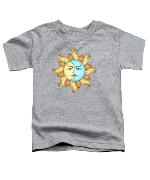 Half Moon And The Sun Toddler T-Shirt