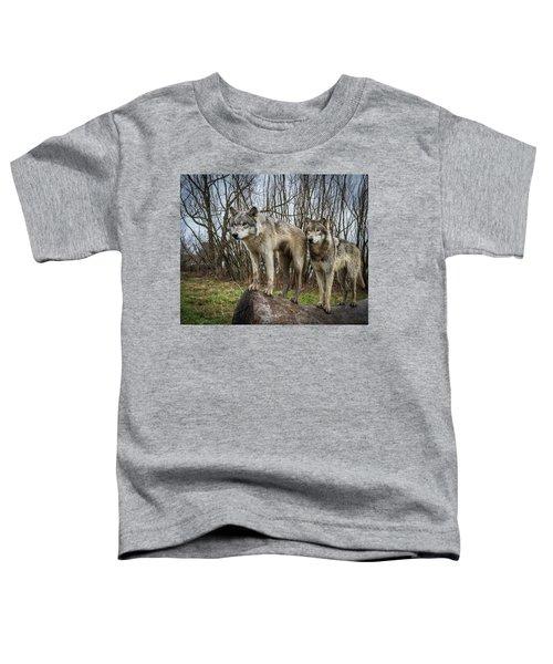 Hangin On The Log Toddler T-Shirt