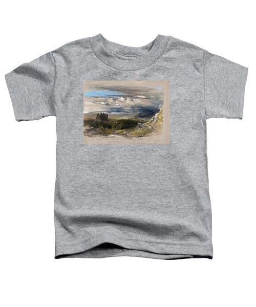 Harlech Castle - Digital Remastered Edition Toddler T-Shirt