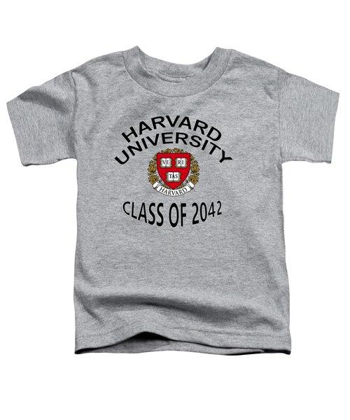 Harvard University Class Of 2042 Toddler T-Shirt