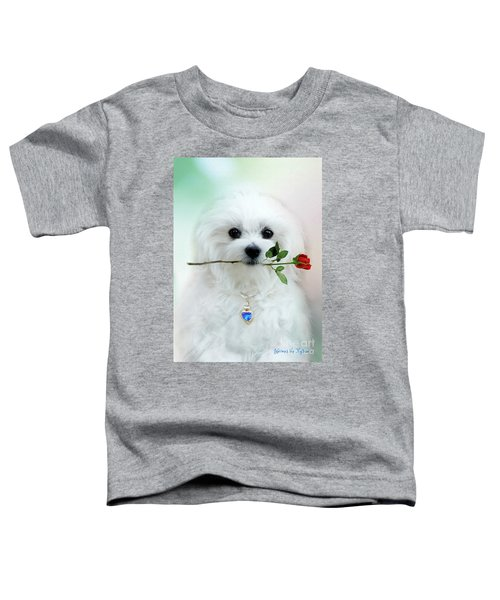 Hermes And Rose Toddler T-Shirt