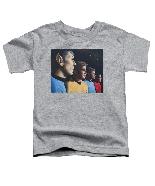 Heroes Of The Final Frontier Toddler T-Shirt