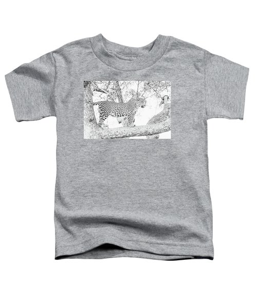 High Key Leopard Toddler T-Shirt