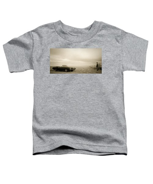 Toddler T-Shirt featuring the photograph High Plains Drifter by Carl Young
