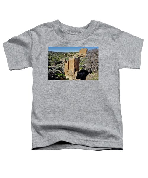 Holly Tower At Hovenweep Toddler T-Shirt