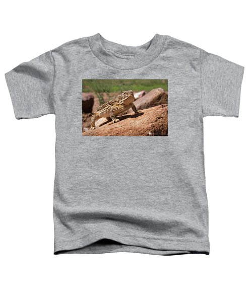 Horny Toad Toddler T-Shirt