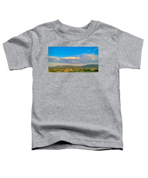 Hot Air Ballon Cluster Toddler T-Shirt