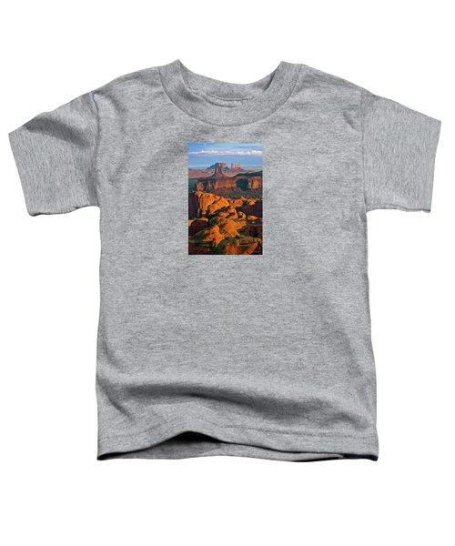 Hunts Mesa Sunrise Toddler T-Shirt