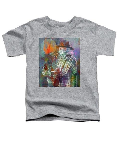 I Wanna Live, I Wanna Give Toddler T-Shirt