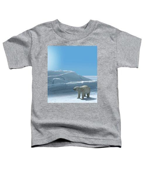 Ice Bear Hunting Polar Arctic Region Toddler T-Shirt