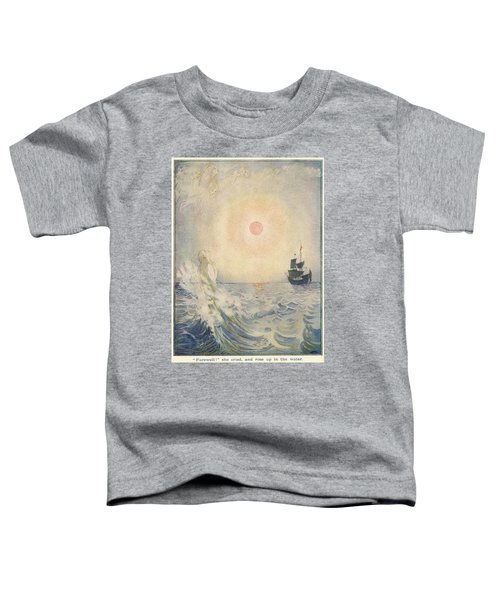 The Little Mermaid, Illustration From  Toddler T-Shirt