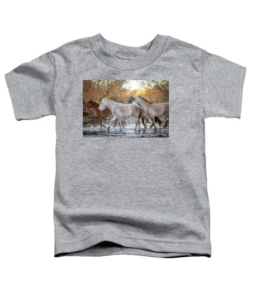 In The River Toddler T-Shirt