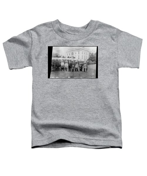 Indian Chiefs With President Harding Toddler T-Shirt