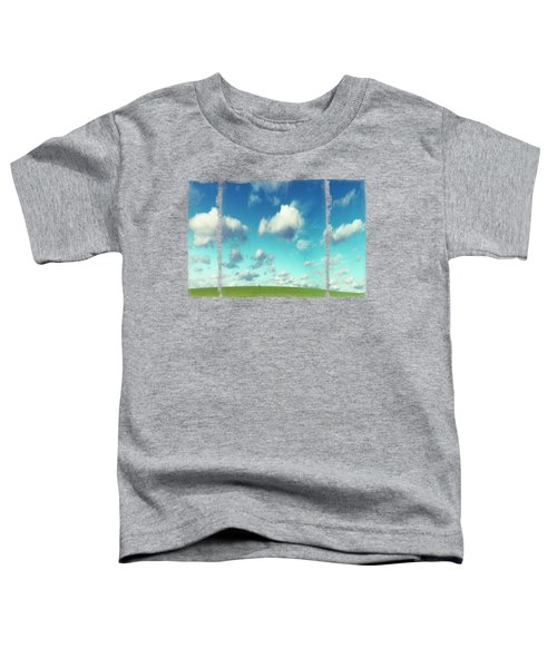Infinity - Green Land And Summer Sky Toddler T-Shirt