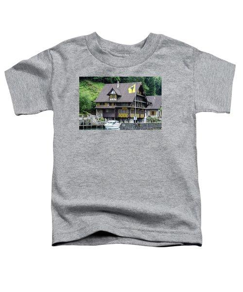 Inn On Lake Lucerne Toddler T-Shirt