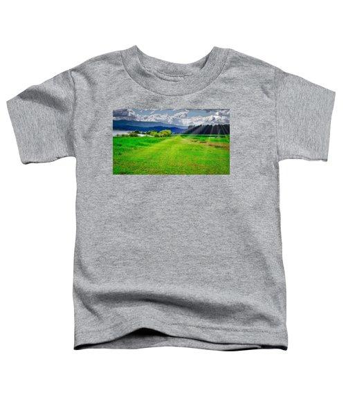 Inviting Airstrip Toddler T-Shirt
