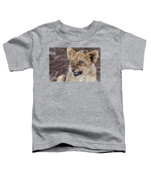 Irritated Lion Cub Toddler T-Shirt