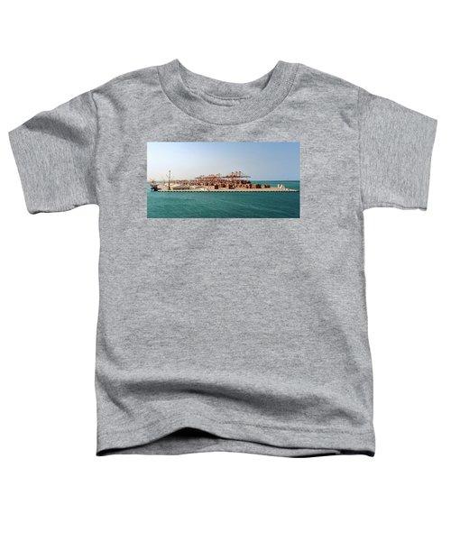 Jeddah Seaport Toddler T-Shirt