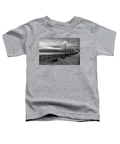 Jersey Shore In Winter Toddler T-Shirt