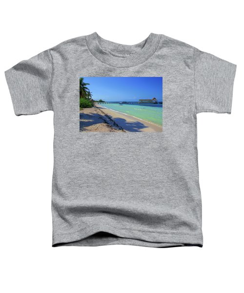 Jetty On Isla Contoy Toddler T-Shirt