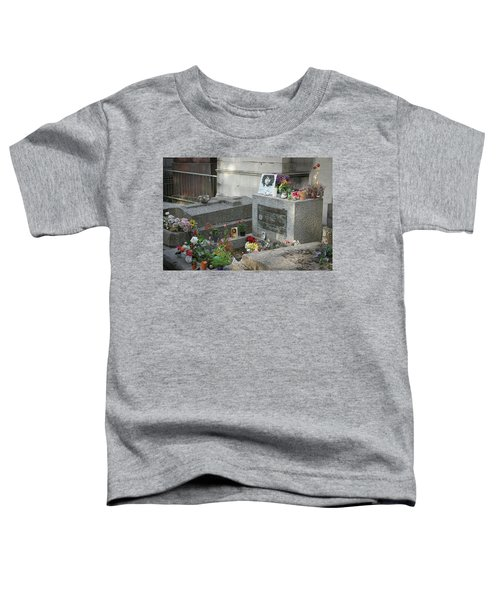 Jim Morrison's Grave Toddler T-Shirt