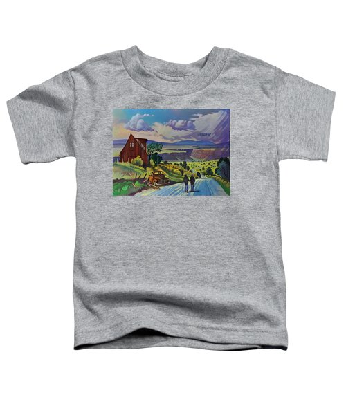 Journey Along The Road To Infinity Toddler T-Shirt