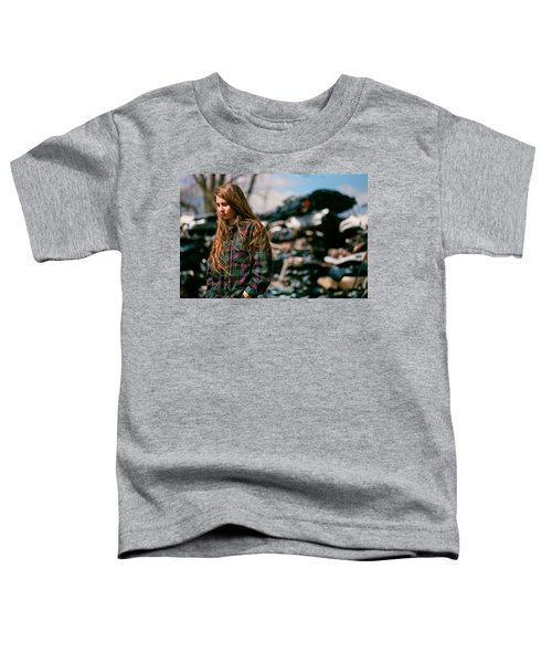 Toddler T-Shirt featuring the photograph Junk by Carl Young