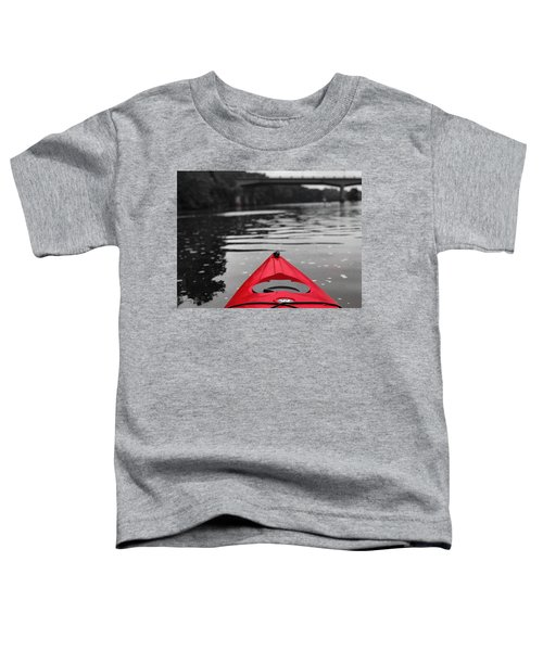 Kayaking The Occoquan Toddler T-Shirt