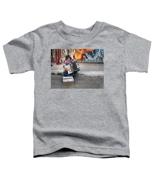 Kid Playing Accordeon Toddler T-Shirt