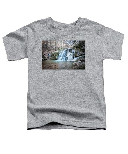 Kilgore Falls In Winter Toddler T-Shirt