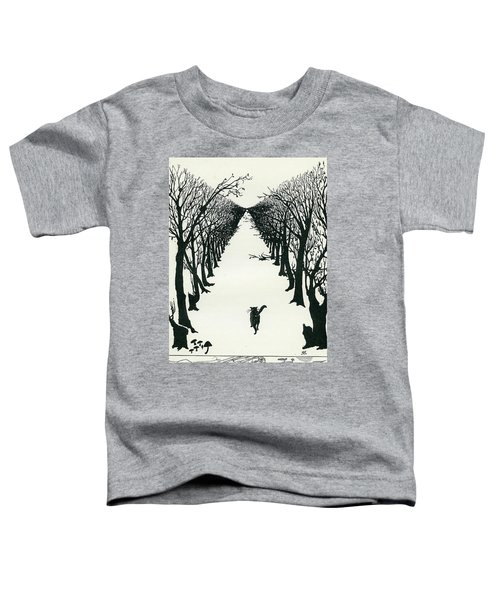 The Cat That Walked By Himself Toddler T-Shirt