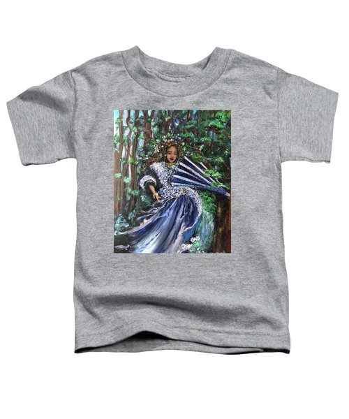 Lady In Forest Toddler T-Shirt