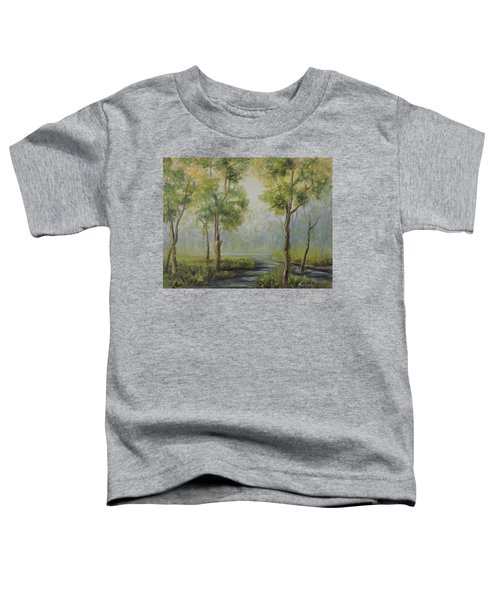 Landscape Of The Great Swamp Of New Jersey With Pond Toddler T-Shirt
