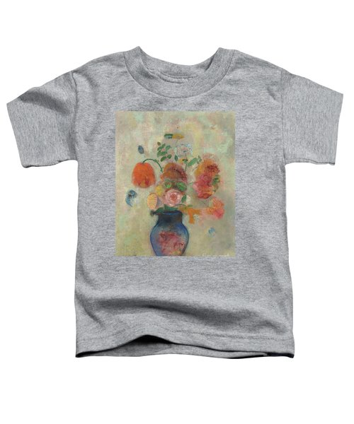 Large Vase With Flowers, Circa 1912 Toddler T-Shirt
