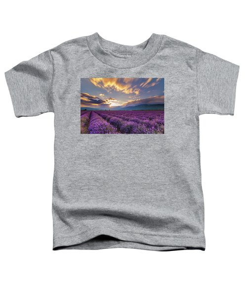 Lavender Sun Toddler T-Shirt