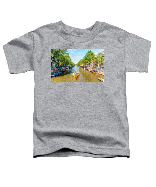 Lazy Sunday On The Canal Toddler T-Shirt