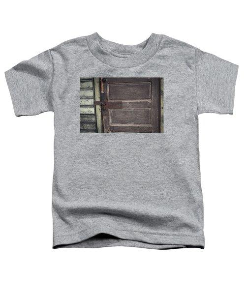 Leather Door Toddler T-Shirt