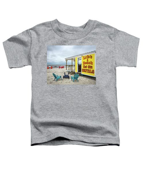 Like's A Beach Toddler T-Shirt
