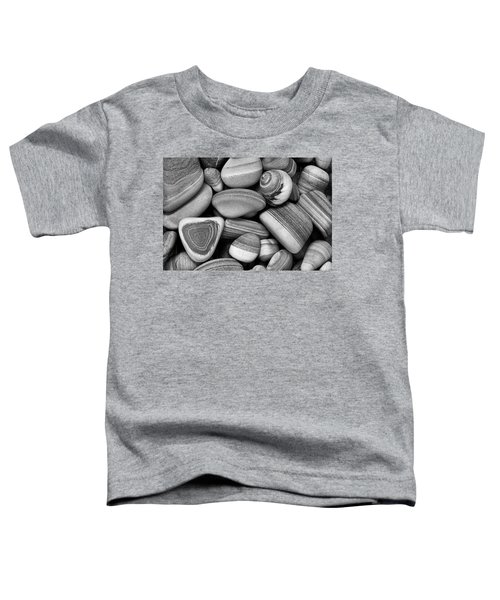 Lined Rocks And Shell Toddler T-Shirt