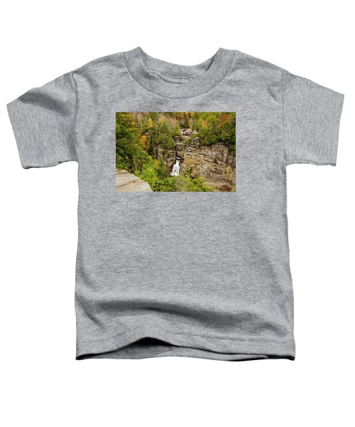 Linville Falls - Wide View Toddler T-Shirt