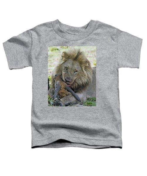 Lion Prey Toddler T-Shirt