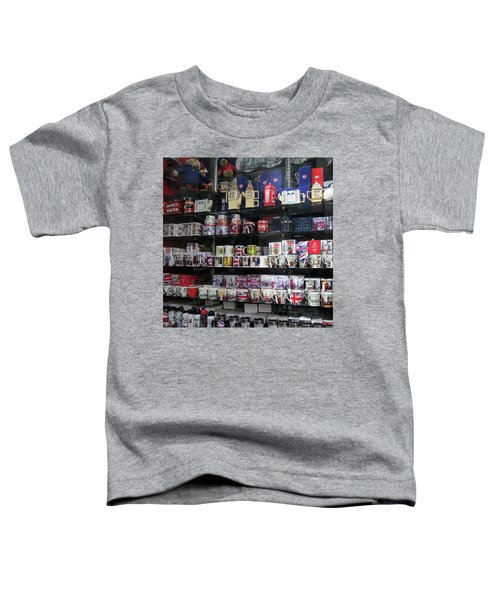 London England Shop Window Toddler T-Shirt