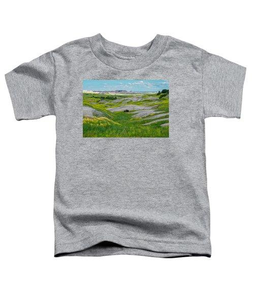 Lone Buffalo Toddler T-Shirt