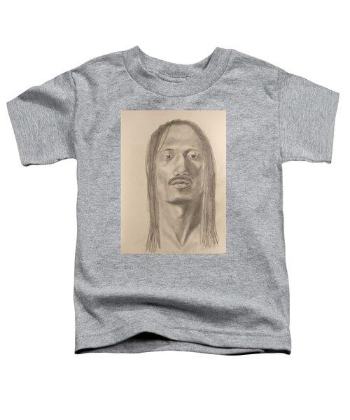 Long Hair Style Toddler T-Shirt